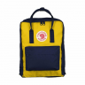 Рюкзак Fjallraven Kanken Classic Navy-Warm Yellow